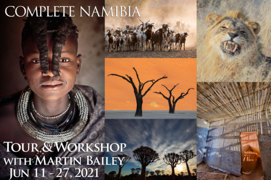 Complete Namibia Tour & Workshop 2021