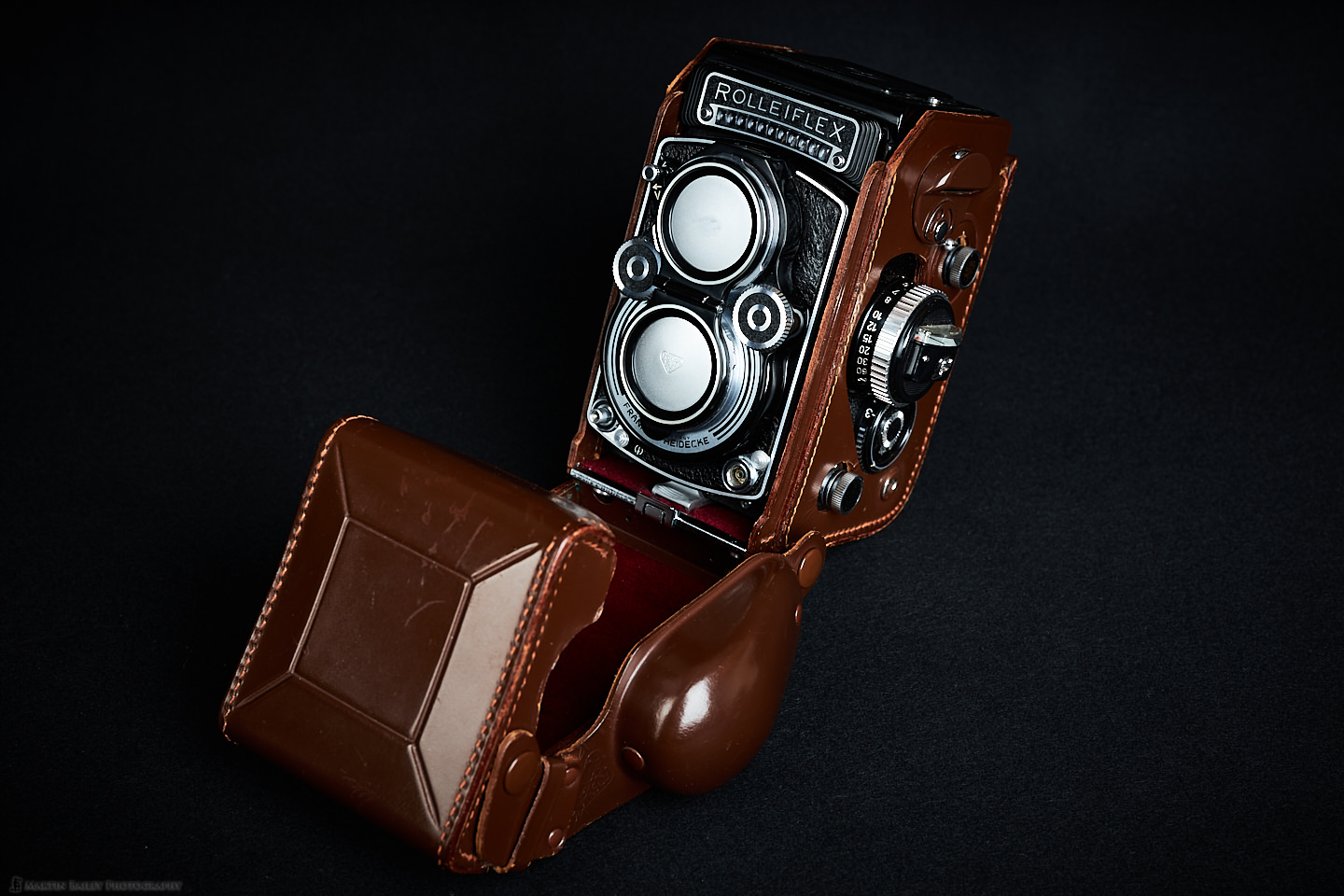 Rolleiflex 3.5F with Leather Case