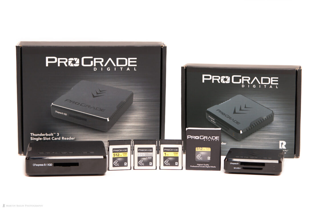 ProGrade Digital CFExpress Type B Memory Cards and Workflow Readers