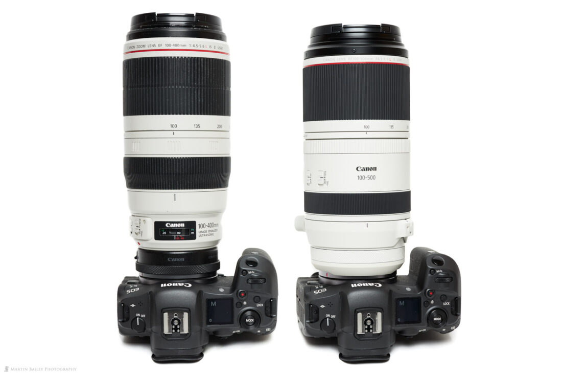 Canon Rf 100 500mm F4 5 7 1 L Is Usm Lens Review Podcast 717 Martin Bailey Photography