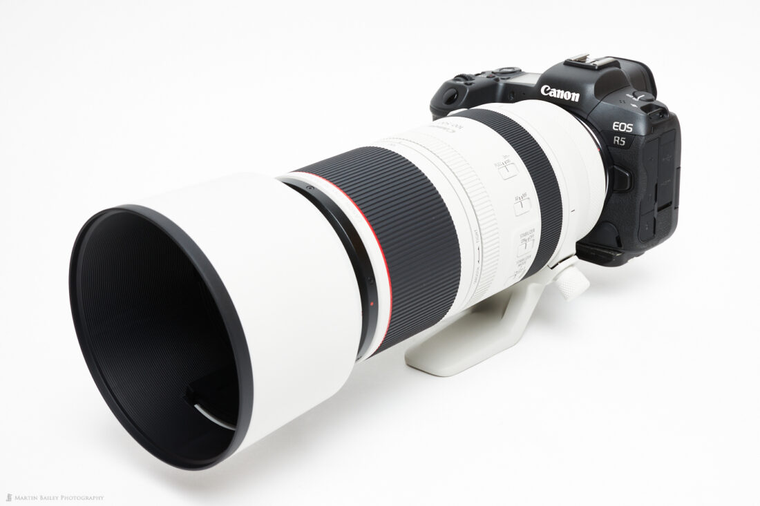 EOS R5 with RF 100-500mm Lens
